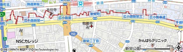 レストラン・ツル周辺の地図