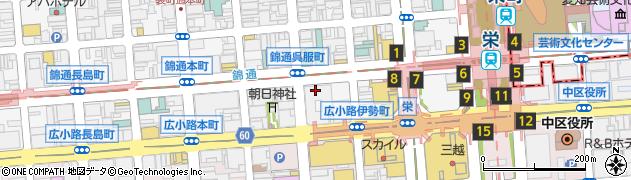 カフェレストランティファニー周辺の地図