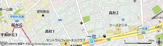 クラビクラ周辺の地図