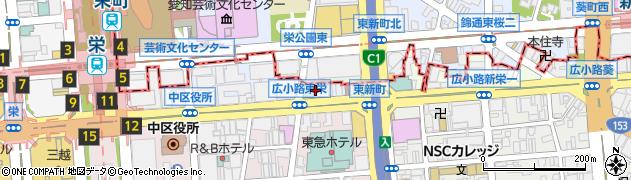 クラブ花苑東新町店周辺の地図