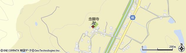 念願寺周辺の地図