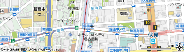 KOBEKAN錦通店周辺の地図