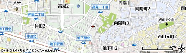 當り屋本店周辺の地図
