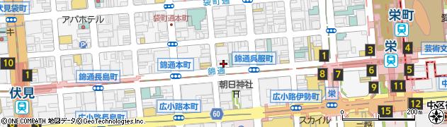 津川周辺の地図