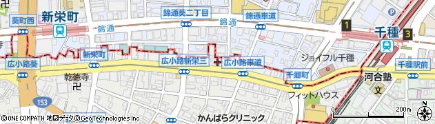 明洞周辺の地図