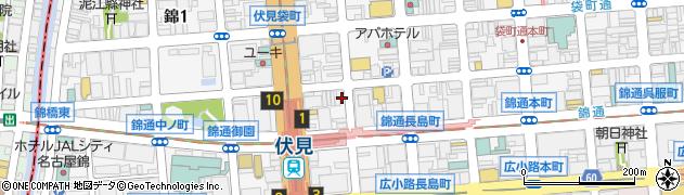 いっちょらい周辺の地図