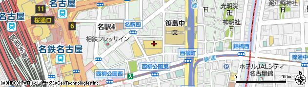 柳橋ビアガーデン 総合受付周辺の地図