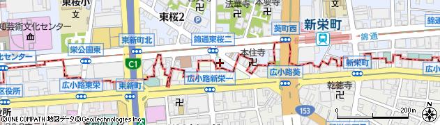 奥志摩CBC前店周辺の地図