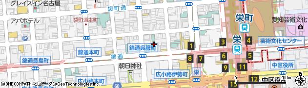 ビックアント周辺の地図