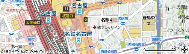 カトレヤ本社 サンロード店周辺の地図