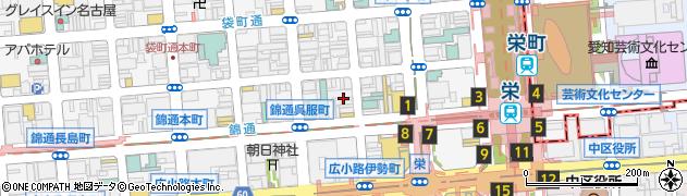 ラウンジきらめき周辺の地図
