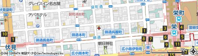 メンバーズ花周辺の地図