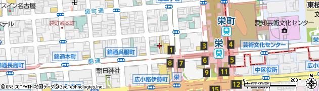 びすとろ家 名古屋錦通り店周辺の地図