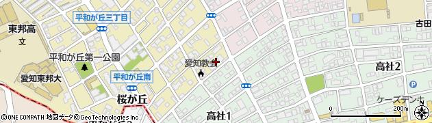 聖徳寺周辺の地図