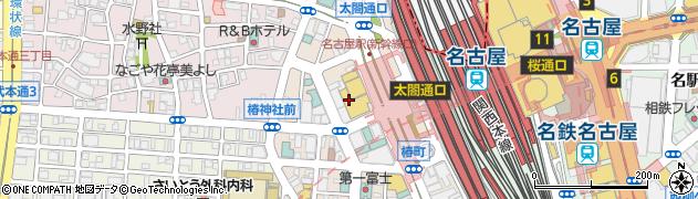 矢場とんエスカ店周辺の地図