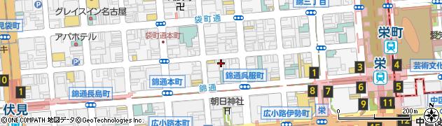 ラウンジROCOCO周辺の地図