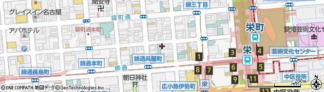 伍味酉 錦店周辺の地図