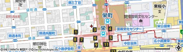 先斗入ル栄店周辺の地図