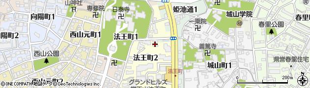 日生覚王山コーポラス周辺の地図