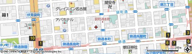 いしがき周辺の地図