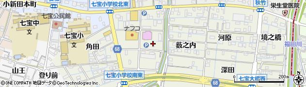 蘭ラウン周辺の地図