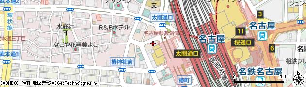 Mrs.J・Meieki周辺の地図