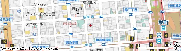 めんばーず佐和周辺の地図