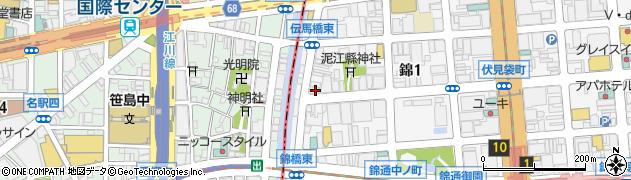 本家かまどや 錦1丁目店周辺の地図