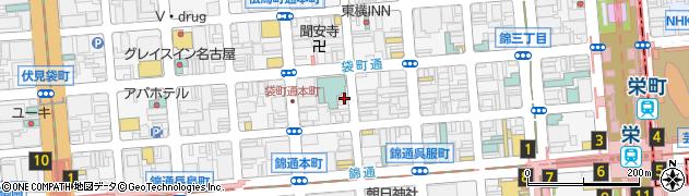 clubアッシャー(USHER)周辺の地図