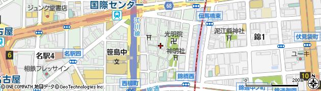 美吉荘周辺の地図
