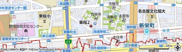 キャバレロクラブ周辺の地図