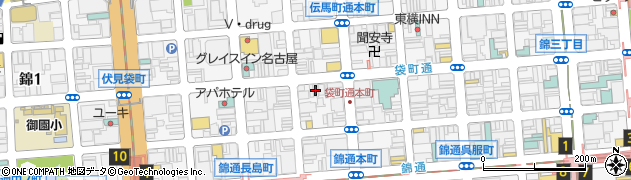 BEN鶏周辺の地図