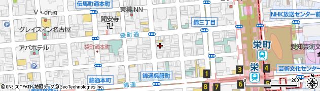 撫子周辺の地図