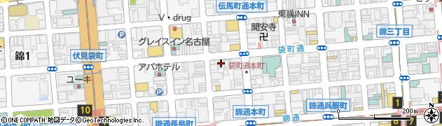 若宮 錦店周辺の地図