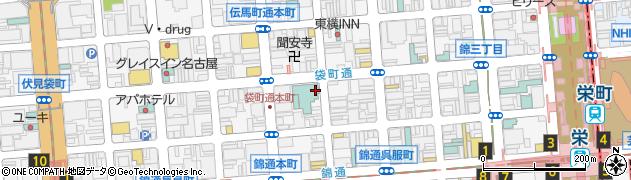 直周辺の地図