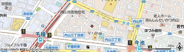 株式会社中実周辺の地図