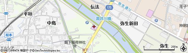 静岡県富士市長通周辺の地図