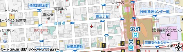 てねしー周辺の地図