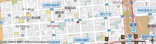 琴線周辺の地図