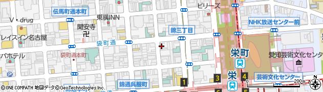 くらぶ眞周辺の地図