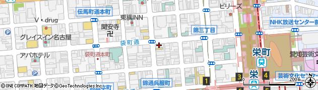 ファニー周辺の地図