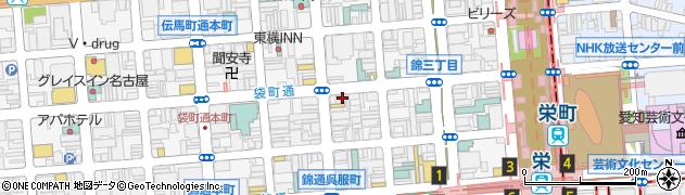 ちょぼや周辺の地図