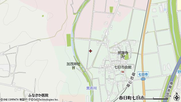 〒669-4131 兵庫県丹波市春日町七日市の地図