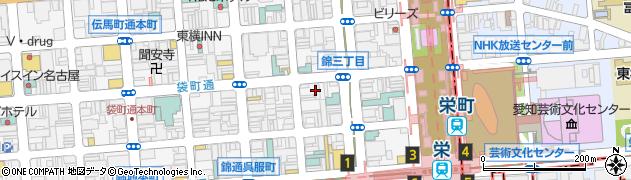 トラストリアネストクラブ周辺の地図