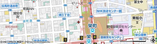 とんかつの藤周辺の地図