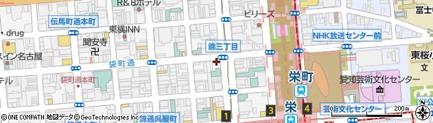ユーロキッス周辺の地図