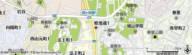 Voice・Cafe・Cherry周辺の地図