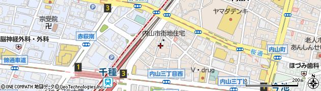 KuroFune周辺の地図