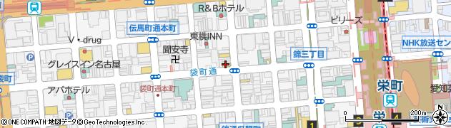 くらぶかなき周辺の地図