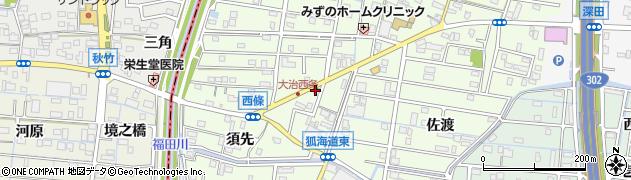 ベントマン 大治店周辺の地図